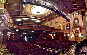 Jefferson Theatre - Image: Jefferson Theatre Beaumont, Panorama
