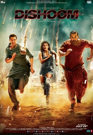Dishoom - Theatrical release poster