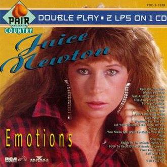 Emotions (Juice Newton album) - Image: Juice Emotions