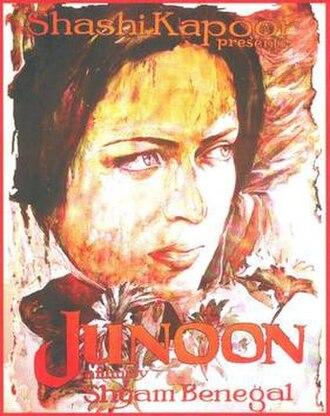 Junoon (1978 film) - Film poster