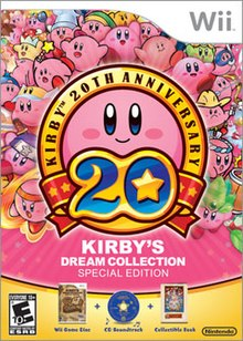 Image result for kirby's dream collection box art
