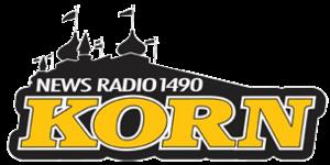 KORN (AM) - Image: KORN News Radio 1490 logo