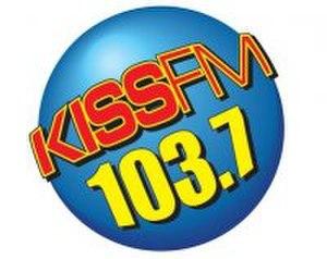 WKXJ - Old KISS FM logo.