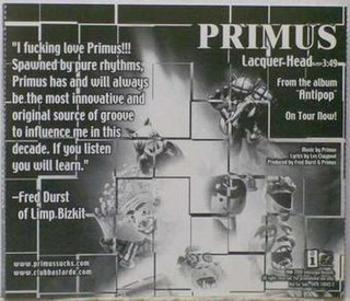 Lacquer Head 1999 song performed by Primus