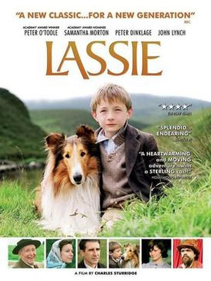 Lassie (2005 film) - UK theatrical release poster