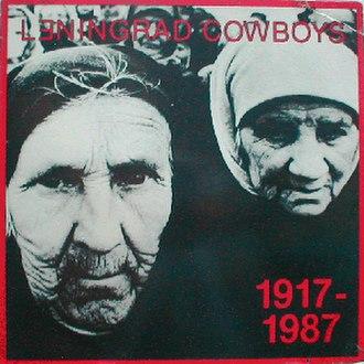 1917–1987 (album) - Image: Leningrad Cowboys 1917 1987