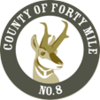Official logo of County of Forty Mile No. 8