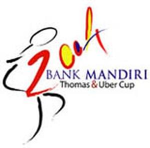 2004 Thomas & Uber Cup - Image: Logo tuc 04