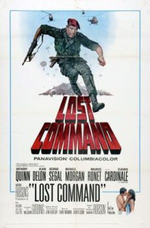 Lost Command - film poster by Howard Terpning