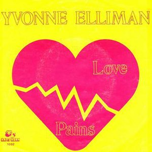 Love Pains - Image: Love Pains Yvonne Elliman Single Cover