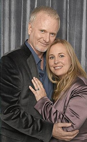 Fictional couple Luke Spencer and Laura Webber...