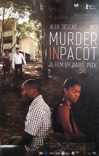 Murder in Pacot - European premier poster at 65th Berlinale