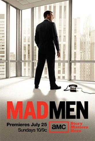 Mad Men (season 4) - Image: Mad Men Season 4, Promotional Poster