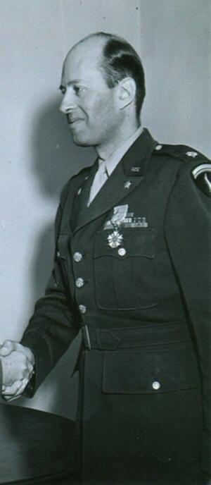 L. Bancel LaFarge - Major L. Bancel LaFarge in uniform during the Second World War