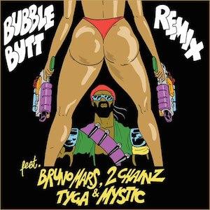 Bubble Butt - Image: Major lazer bubble butt remix
