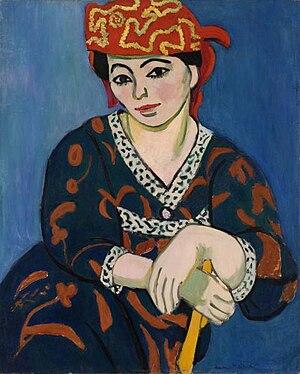 Madras Rouge - Image: Matisse.mme matisse madras