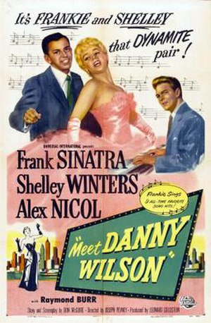 Meet Danny Wilson (film) - Film poster by Reynold Brown