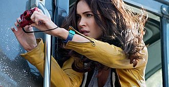 April O'Neil - Megan Fox as April O'Neil in Teenage Mutant Ninja Turtles