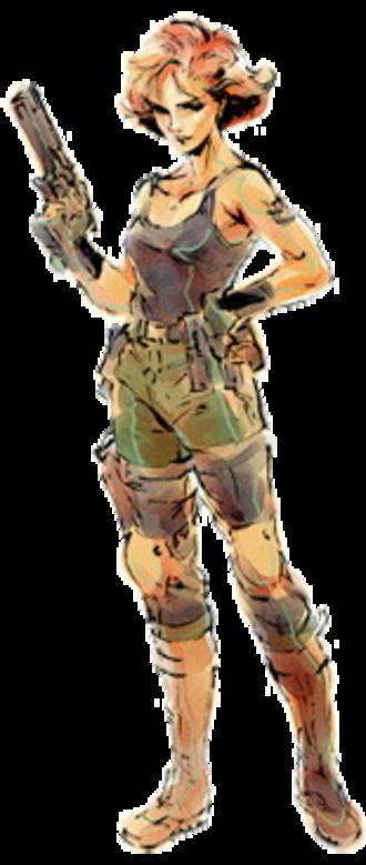 Meryl Silverburgh - Meryl Silverburgh as seen in Metal Gear Solid, illustrated by Yoji Shinkawa