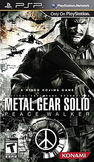 <i>Metal Gear Solid: Peace Walker</i> video game