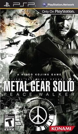 Metal Gear Solid: Peace Walker - Image: Metal Gear Solid Peace Walker Cover Art