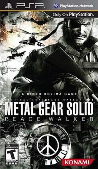 Metal Gear Solid: Peace Walker - Image: Metal Gear Solid Peace Walker Cover Art