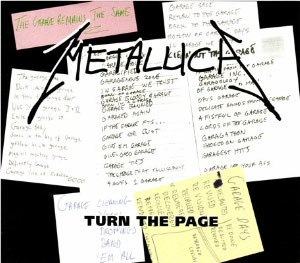 Turn the Page (Bob Seger song) - Image: Metallica Turn the Page cover