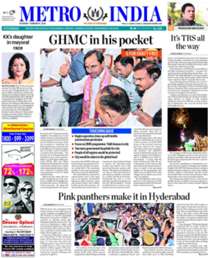 Metro India - Cover of Metro India on 6 February 2016
