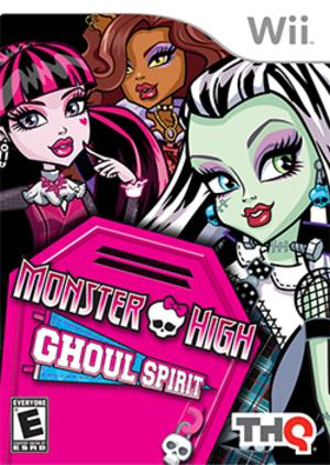 Monster High: Ghoul Spirit - Image: Monster High Ghoul Spirit Coverart