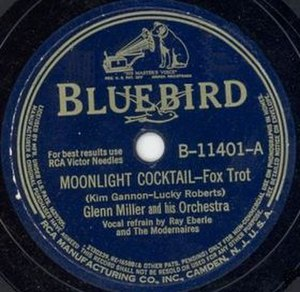 Moonlight Cocktail - RCA Bluebird 78, B-11401-A, 1942.