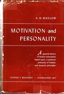 maslows theory of personality