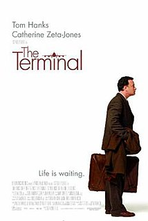 <i>The Terminal</i> 2004 film by Steven Spielberg