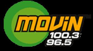 WMVN (FM) - Image: Movin 1003 965