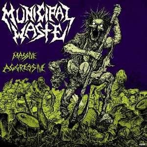 Massive Aggressive - Image: Municipal Waste Massive Aggressive cover