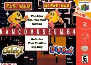 Namco Museum - North American Nintendo 64 cover art