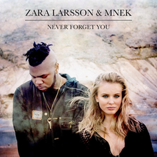 Never Forget You (Official Single Cover) by MNEK and Zara Larsson.png