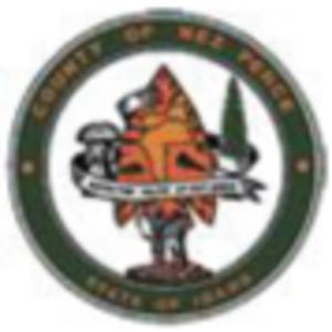 Nez Perce County, Idaho - Image: Nez Perce County ID Seal