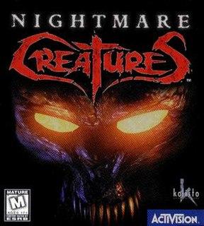 <i>Nightmare Creatures</i> video game