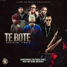 Nio Garcia, Darell and Casper Magico featuring Bad Bunny, Nicky Jam and Ozuna - Te Boté (Remix).jpg