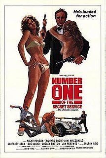 <i>No. 1 of the Secret Service</i> 1977 film by Lindsay Shonteff