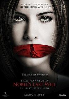 <i>Nobels Last Will</i> 2012 TV crime film directed by Peter Flinth