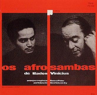Os Afro-sambas - Image: Os Afro sambas (1966 album)