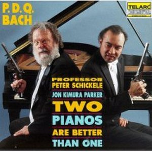 Two Pianos Are Better Than One - Image: PDQ Bach Two Pianos Are Better Than One