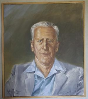 Martin Allwood - Image: Painting of Martin Samuel Allwood