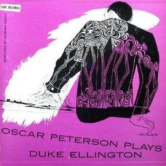 Oscar Peterson Plays Duke Ellington - Image: Petersonellington