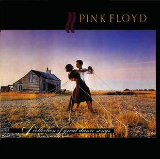 A Collection of Great Dance Songs - Image: Pink Floyd A Collection of Great Dance Songs! 1997 Remastered CD 300