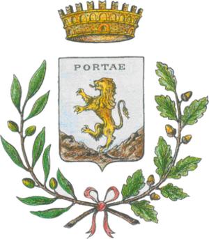 Porte, Piedmont - Image: Porte Stemma