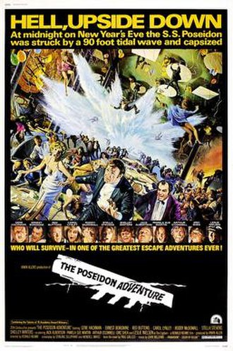 The Poseidon Adventure (1972 film) - Theatrical poster by Mort Künstler