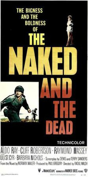 The Naked and the Dead (film) - Theatrical release poster