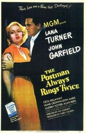 The Postman Always Rings Twice (1946 film) - Poster for the theatrical release